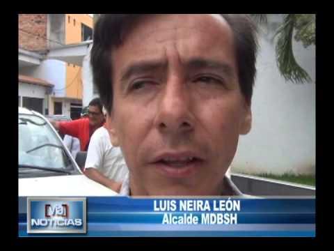 Alcalde Bandino pide explicaciones por trabajos en Leoncio Prado