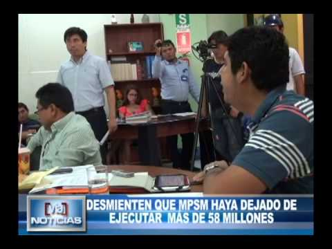 Desmiente que MPSM haya dejado de ejecutar más de 58 millones