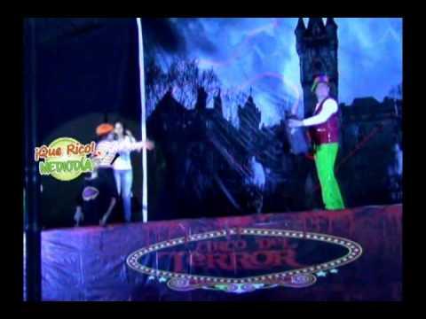 Impresionantes ecenas del circo del terror en Tarapoto