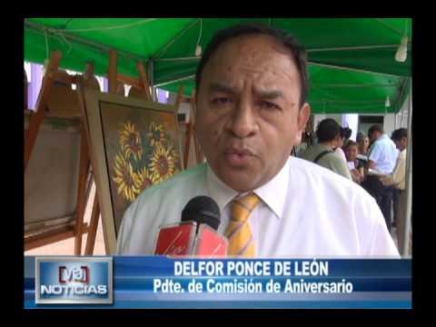 Inauguran VII feria dl libro y expresiones culturales Wilson León Bazán
