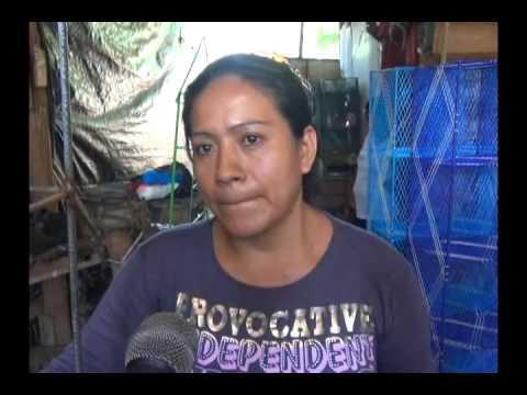 Madre denuncia robo de sus artefactos y policías no lo atienden