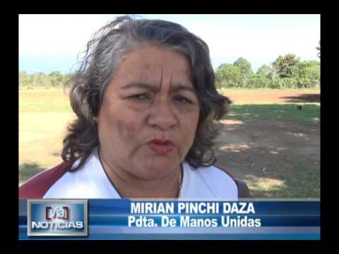Manos unidas entrega apoyo a familia indigente en sananguillo