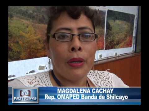 OMAPED Banda de Shilcayo entrega apoyo a hombre que padece de fibrosis pulmonar