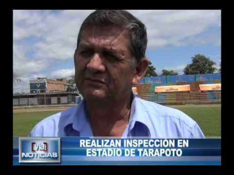 Realizan inspección en estadio de Tarapoto