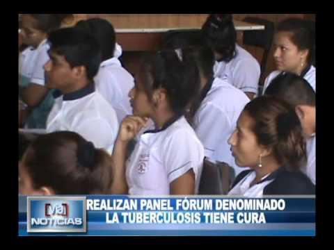 REALIZAN PANEL FÓRUM DENOMINADO LA TUBERCULOSIS TIENE CURA