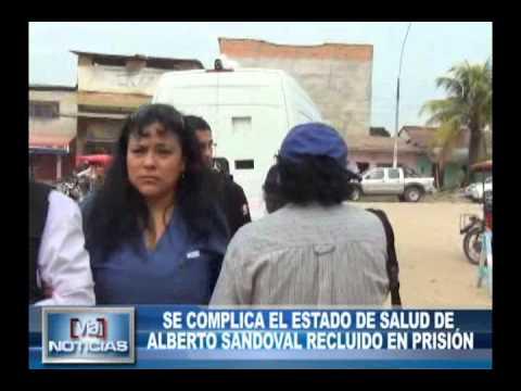 Se complica el estado de salud de enfermero Alberto Sandoval recluido en prisión