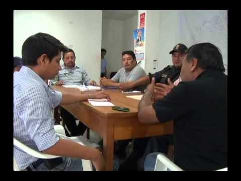 Secretarios de seguridad ciudadana se reúnen para evaluar trabajo
