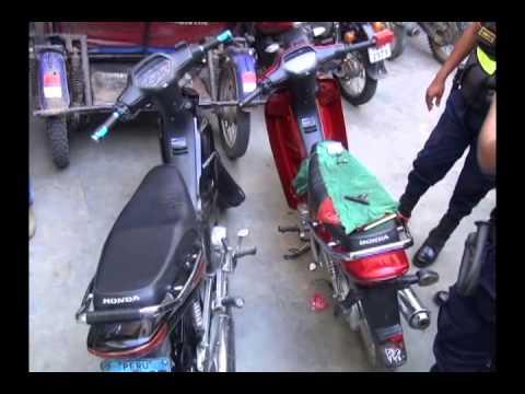 Serenos realizaron seguimiento para recuperar las dos motos