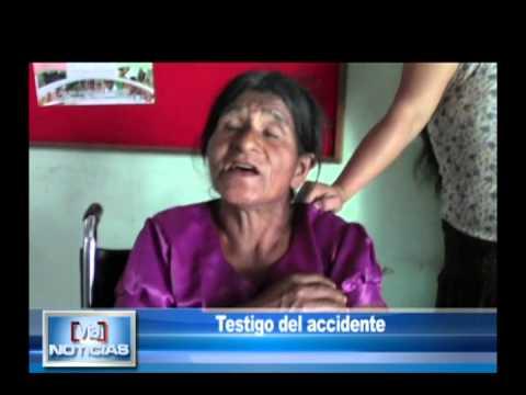 Triple choque deja un niño muerto y 5 heridos en Moyobamba