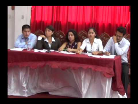 Candidatos estudiantiles participan de debate electoral