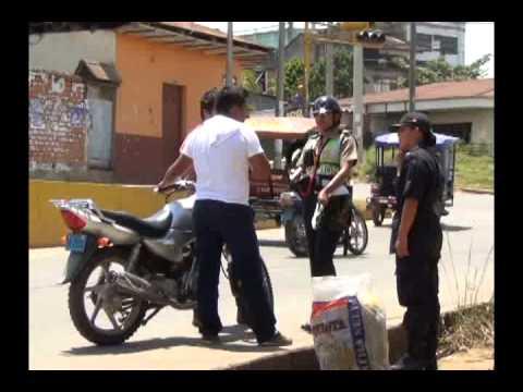 Se intensifican operativos por uso de casco en la ciudad de Tarapoto