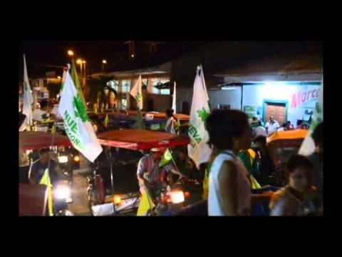 Nueva Amazonía organiza caravana multitudinaria