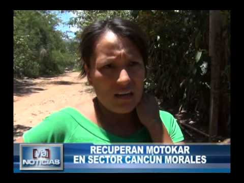 Recuperan motokar en sector cancún en Morales