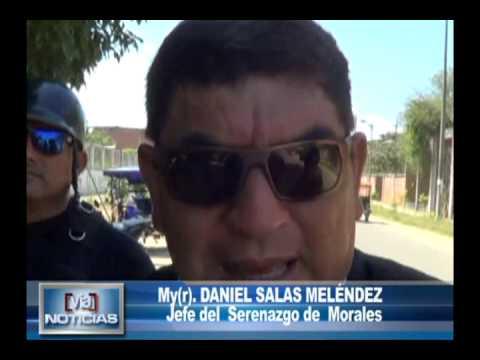 Serenos de Morales recuperan moto hurtada