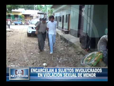 Encarcelan a sujetos involucrados en violación sexual de menor