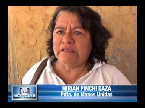 Manos unidas cuestiona a personal del INPE por desaparición de donativo