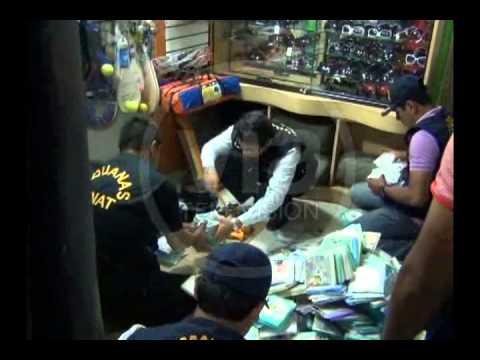 Policía Incauta más de 100 mil discos piratas