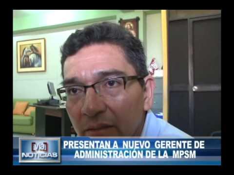 Presentan a nuevo gerente de administración de la MPSM
