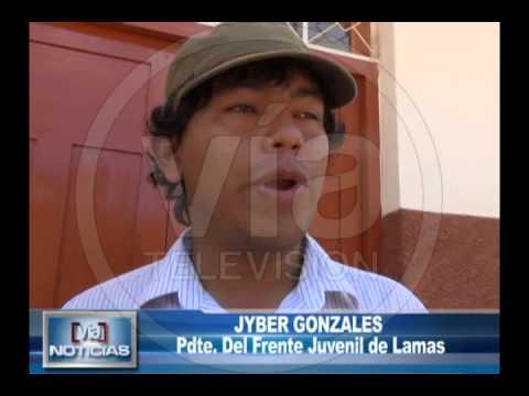 Jóvenes lameños cuestionan al municipio por calles en mal estado