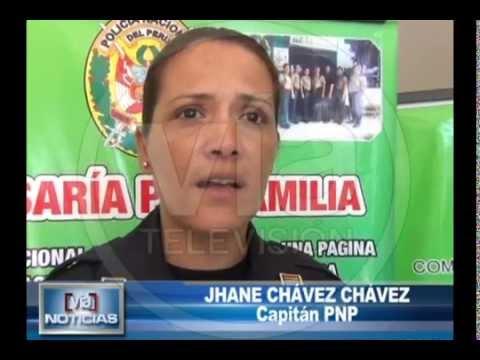 Comisaría de la mujer realizó chocolatada en Morales