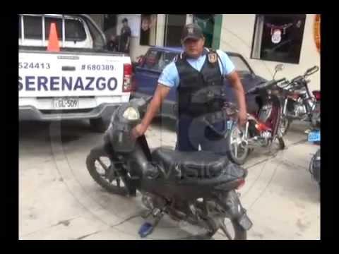 Policía interviene a sujetos acusados de robo
