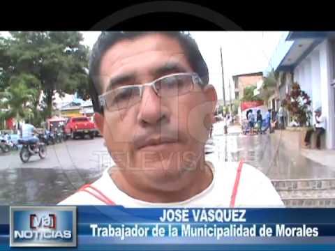 Despiden a trabajadores municipales del ditrito de Morales