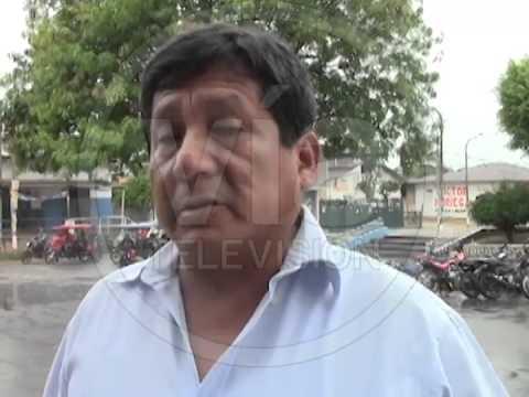 Destrozan parcialmente cajero del Banco de la Nación en Morales