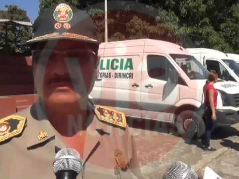 Implementan con 4 furgonetas a la región Policial de San Martín