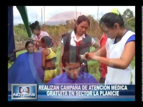 Realizan campaña de atención médica gratuita en sector la planicie