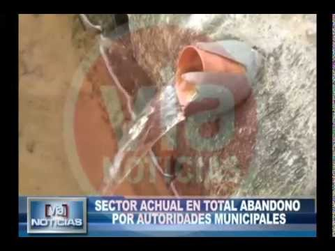 Sector achual en total abandono por autoridades municipales