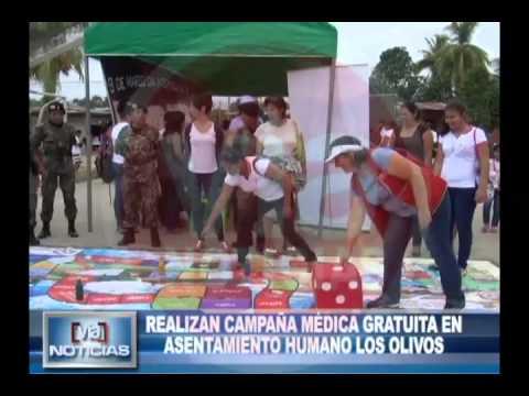 Campaña médica gratuita en asentamiento humano Los Olivos