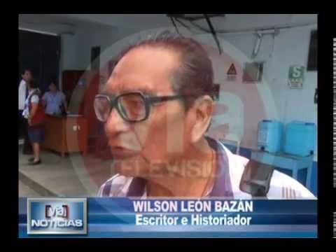 Wilson León Bazán publica libro histórico de la Región San Martín