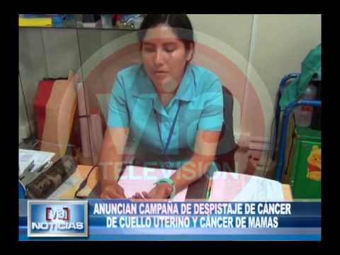 Campaña de despistaje de cáncer de cuello uterino y cáncer de mamas