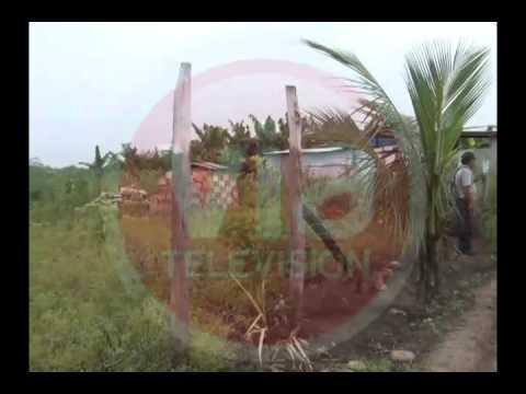 Donan terreno en Santa Elena para construcción de loza deportiva