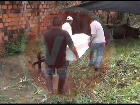Entierran a NN que falleció en centro de rehabilitación de Morales