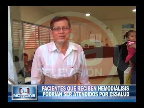 Pacientes que reciben hemodiálisis podrían ser atendidos por Essalud