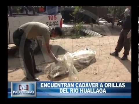 Encuentran cadáver a orillas del rio huallaga en la zona de Puerto López