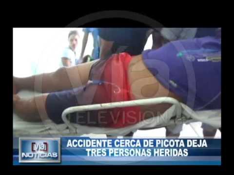 Accidente cerca de Picota deja tres personas heridas