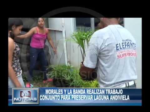 Morales y La Banda realizan trabajo conjunto  para preservar laguna Andiviela