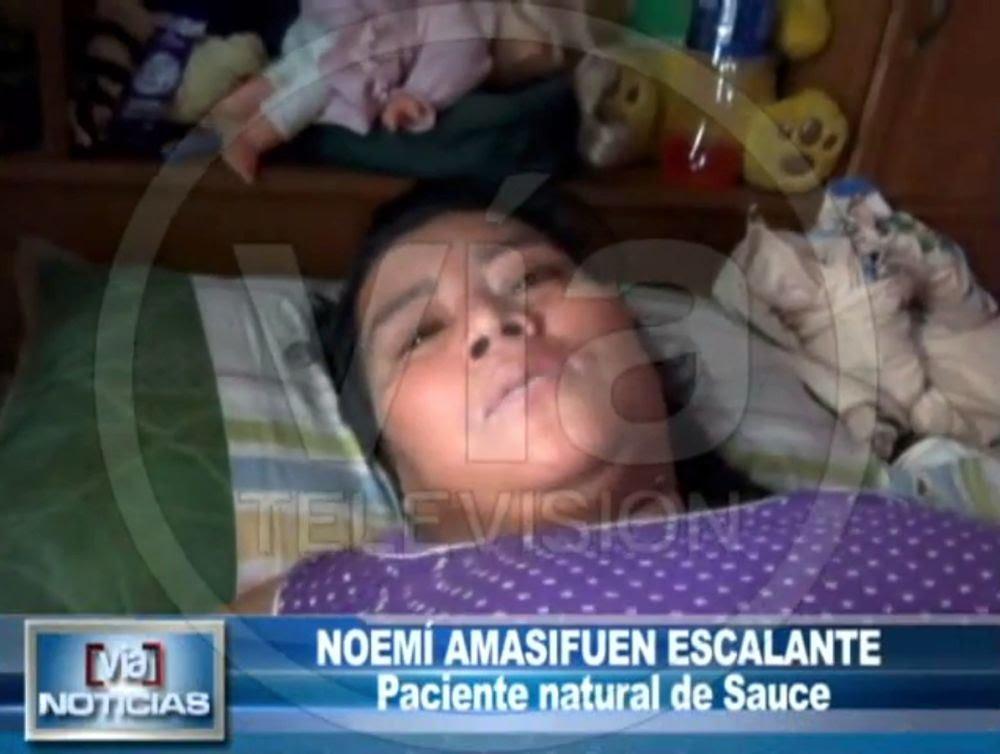 Madre de familia denuncia no ser atendida en hospital de contingencia