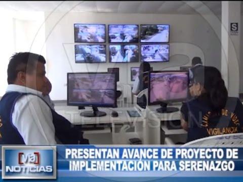 Presentan avance de proyecto de implementación para serenazgo