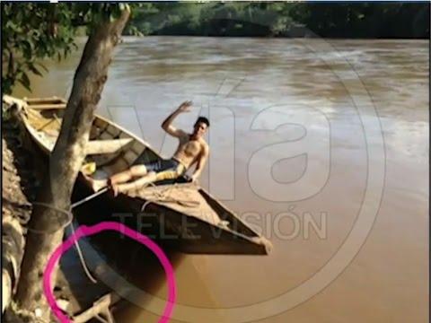 Misterioso rostro aparece en fotografía tomada en Río Mayo