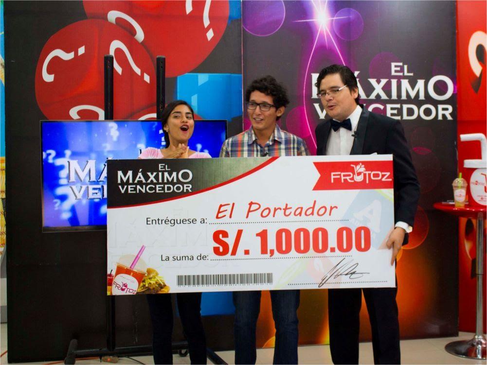 El Máximo Vencedor Sábado 16 de Abril  2016