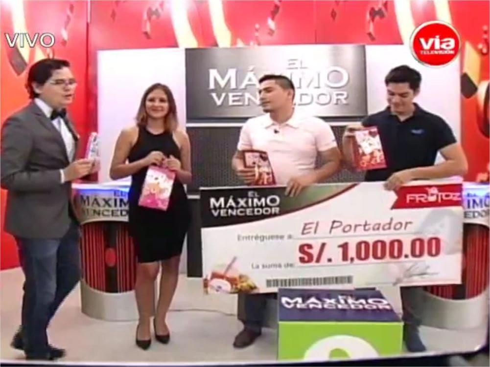 El Máximo Vencedor Sábado 23 Abril  2016
