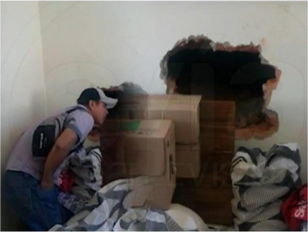 Tarapoto: Delincuentes roban celulares valorizados en 30 mil soles haciendo forado