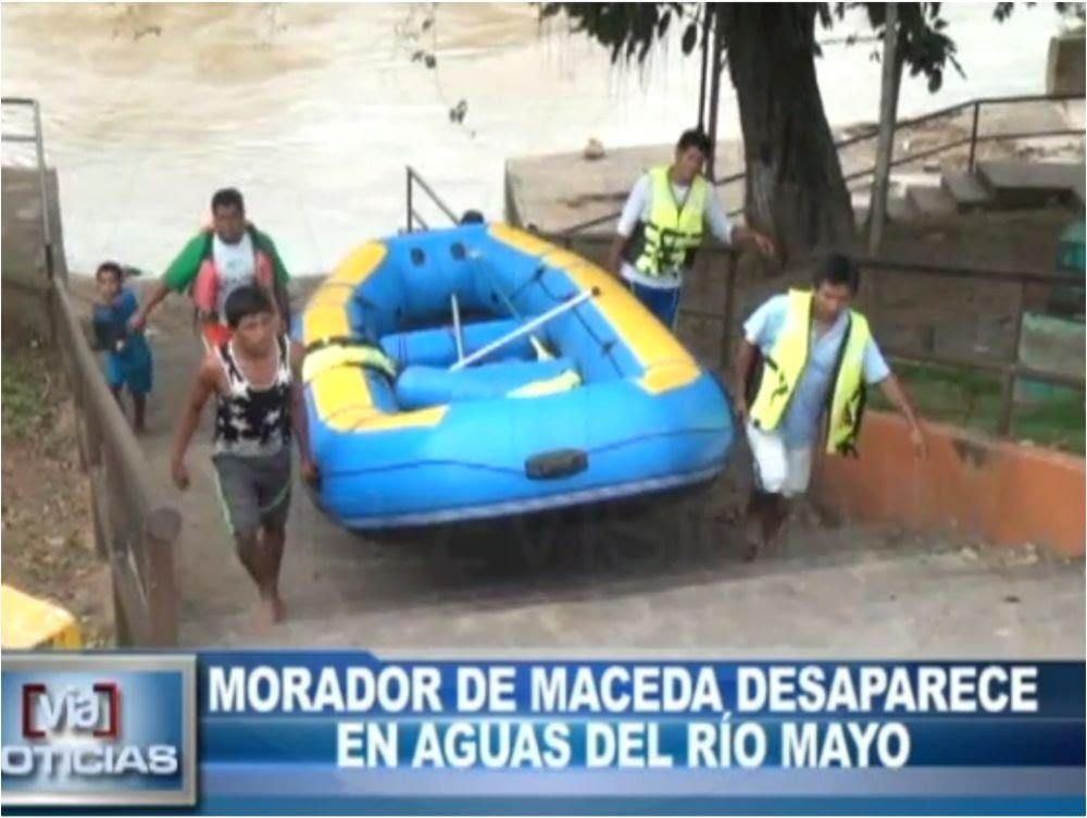 Maceda: Morador desaparece en las aguas del río mayo
