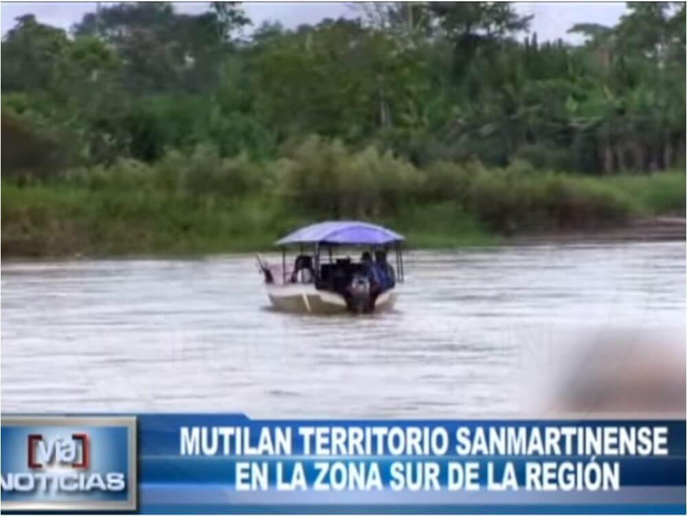 Mutilan territorio Sanmartinense en la zona sur de la región