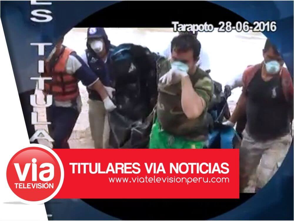 VIA Noticias: Titulares 28 Junio 2016