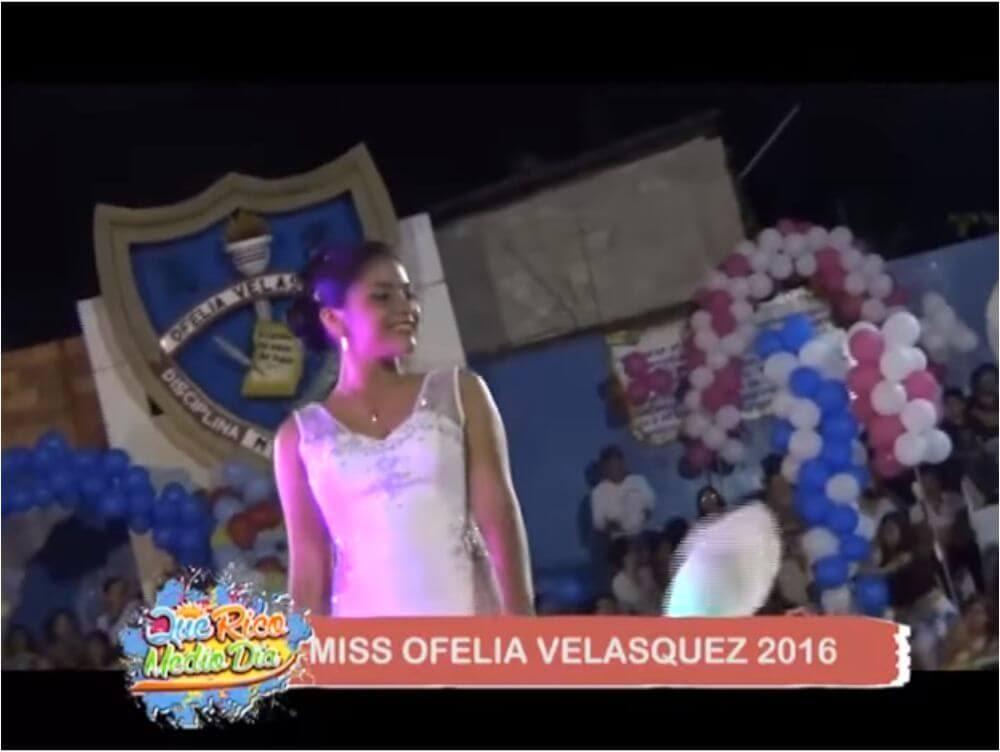 Miss Ofelia Velásquez Tarapoto 2016