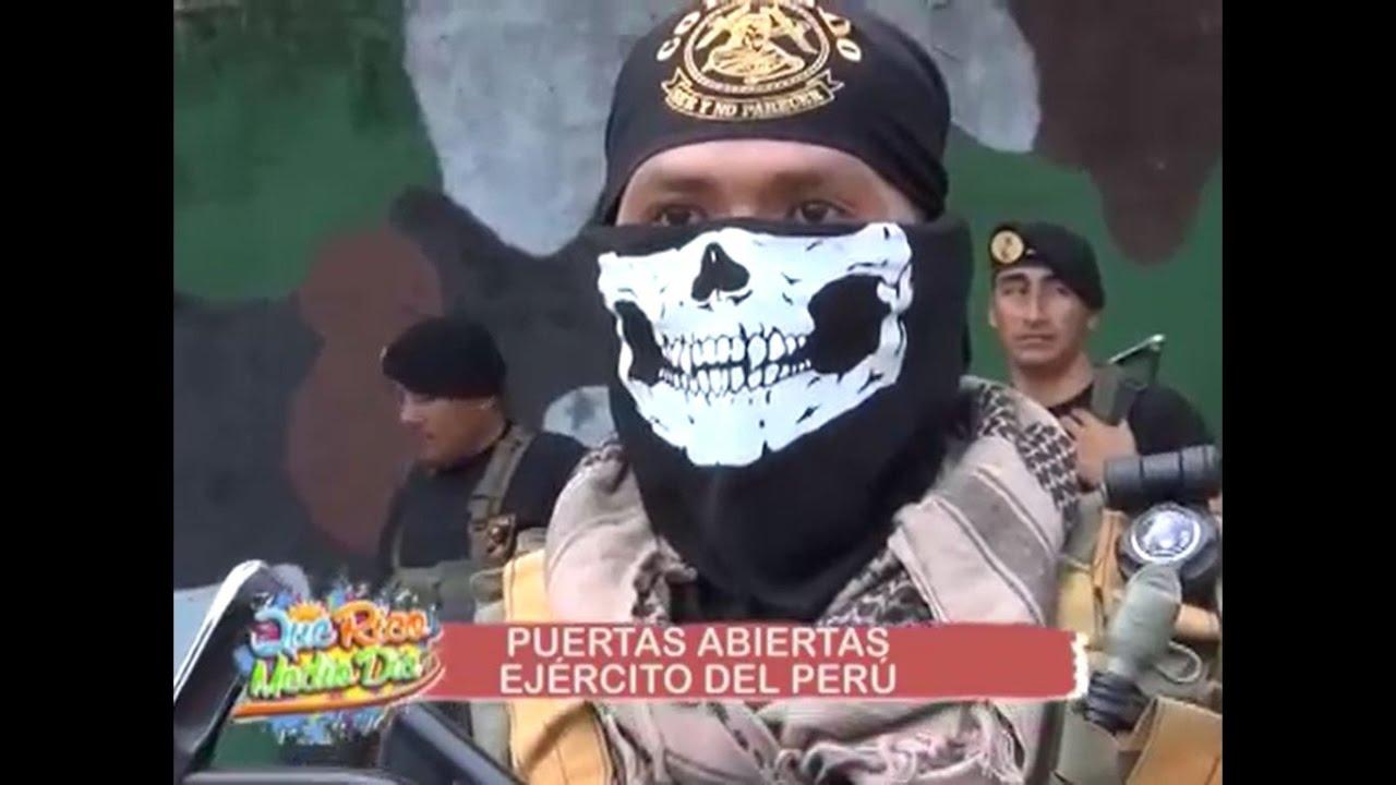 Puertas abiertas del ejército peruano en la selva – Tarapoto